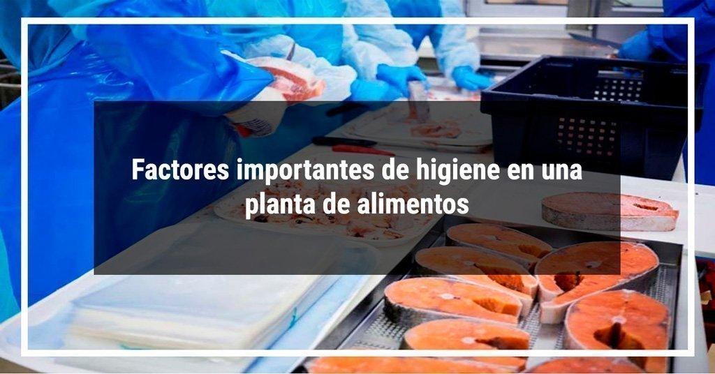 higiene en plantas de alimentos