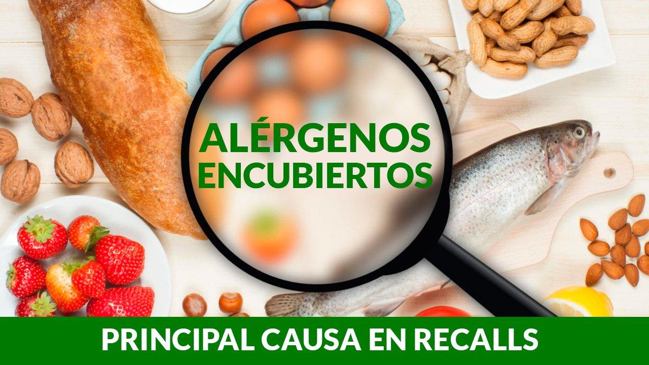 Alérgenos encubiertos recalls