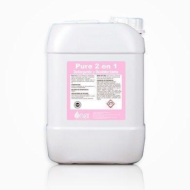 Detergente y desinfectante Pure 2 en 1