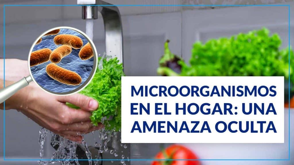MICROORGANISMOS EN EL HOGAR: UNA AMENAZA OCULTA