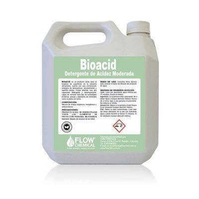 Bioacid detergente ácido