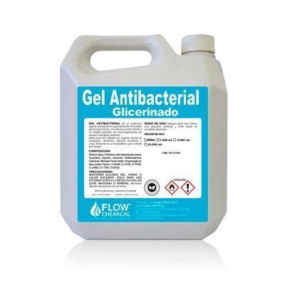 Gel Antibacterial Glicerinado con Alcohol