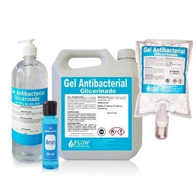 Gel Antibacterial Glicerinado con Alcohol