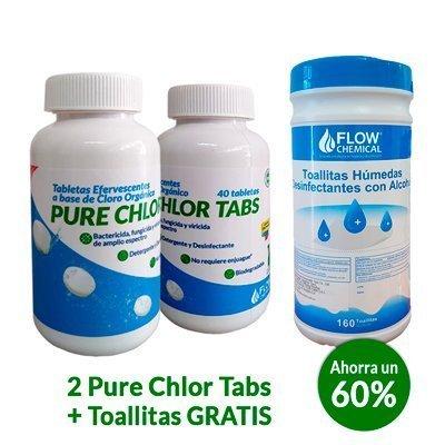 Cloro Orgánico en Tabletas